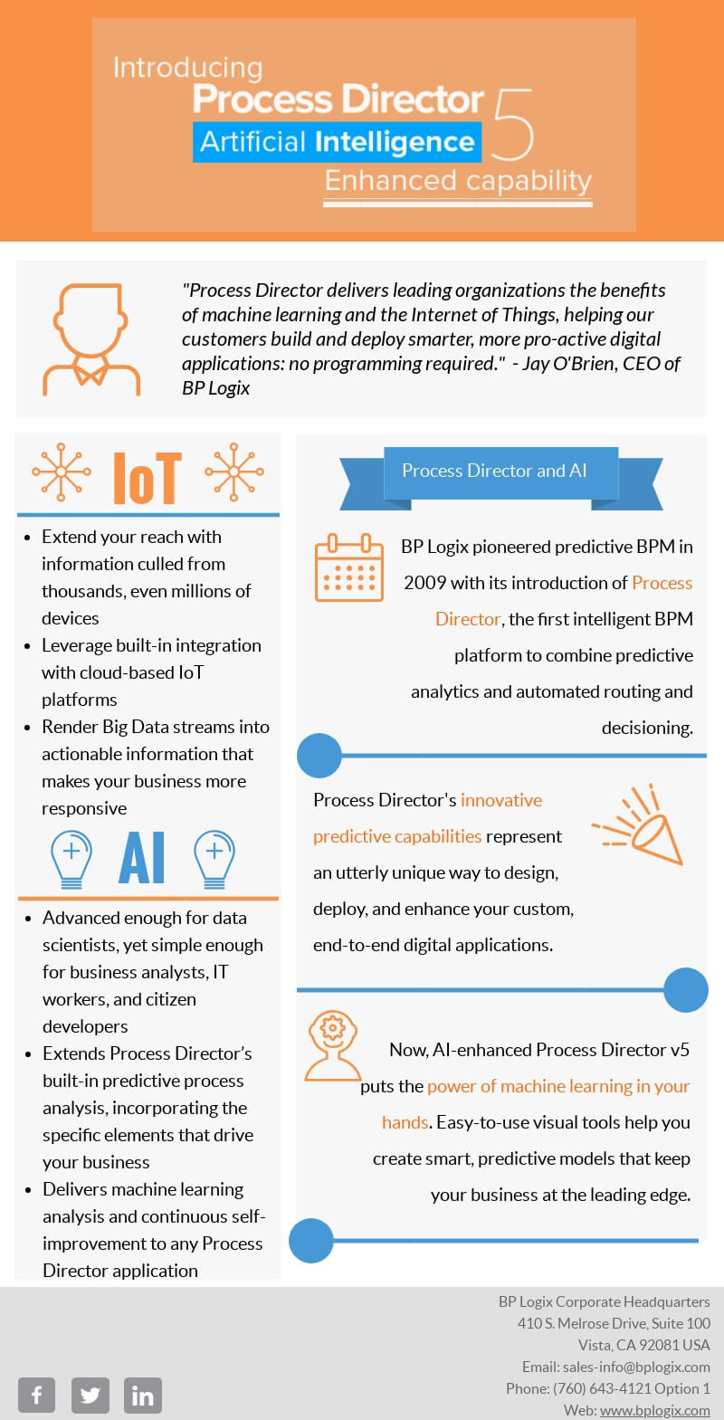 Process Director v5 Infographic