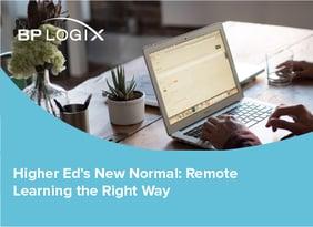 BPLogix Higher Ed Remote Learning eBook