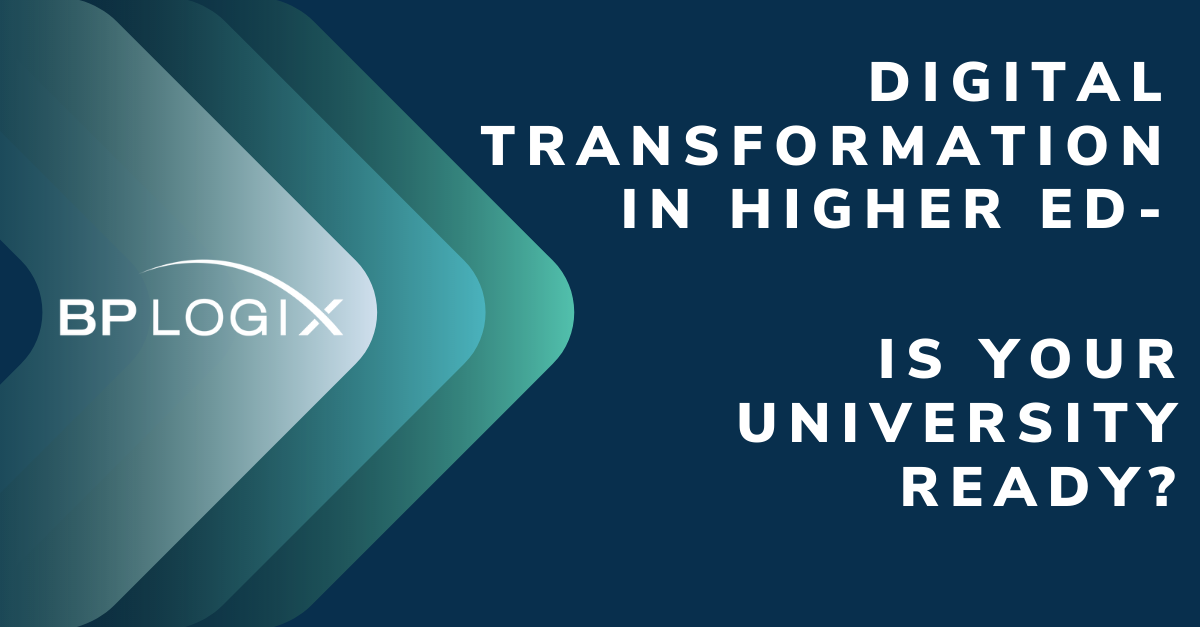 Digital Transformation in Higher Education - The 3 Step Process